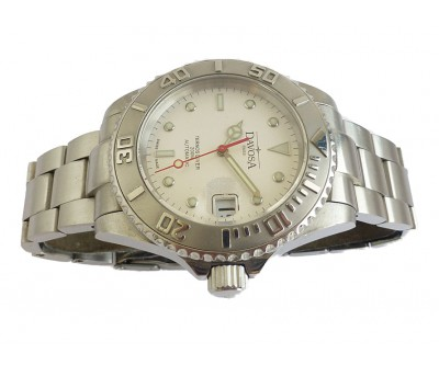 DavosaTernos Automatic Divers Watch Silver Dial - NWW 1348