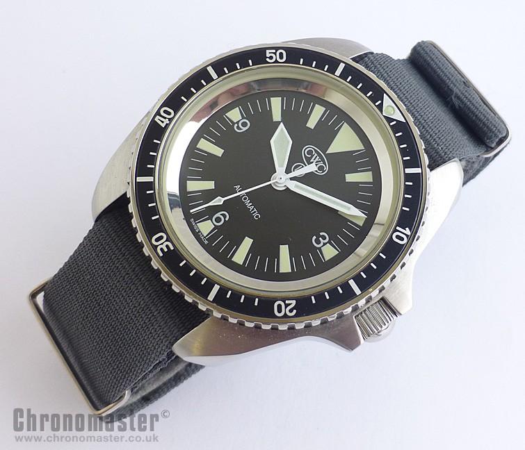 Precista British Military Diver's Watch