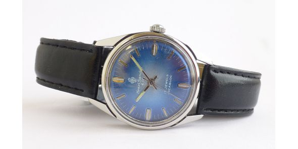 Henri Sandoz - Hand Winding Gents Wristwatch - VIN 575