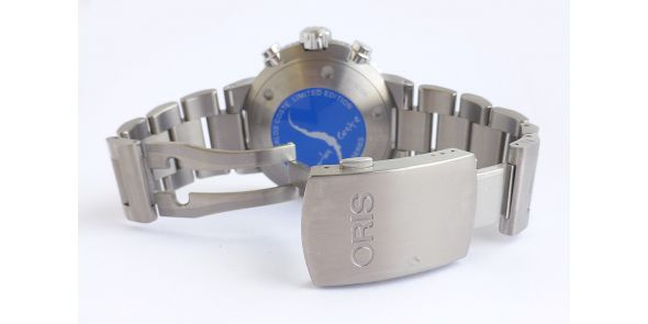 Oris Carlos Coste Automatic Divers Chronograph Limited Edition - NWW 1357