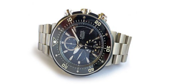 Oris Pro Diver Chronograph Titanium 1000 Metre - NWW 1355