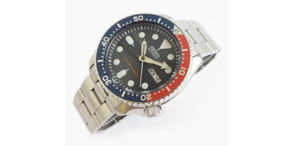 Seiko Automatic Divers Watch 200 Metre SKX 009 Serviced - NWW 1353