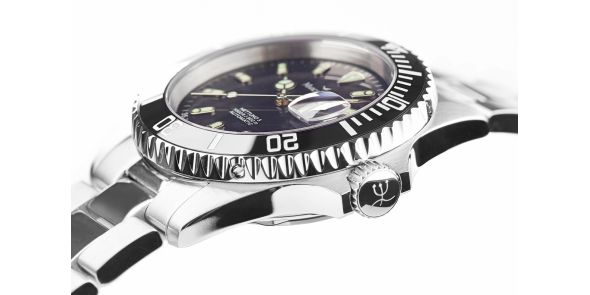 Marcello C Nettuno Divers Wristwatch Black Dial Ceramic Bezel - MAT 16