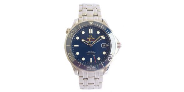 Omega Seamaster Co-Axial With Ceramic Bezel - Blue - OME 607