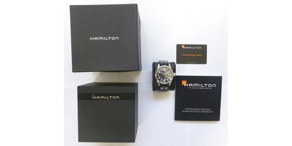 Hamilton Khaki Field Officers Automatic Wristwatch - NWW 1362