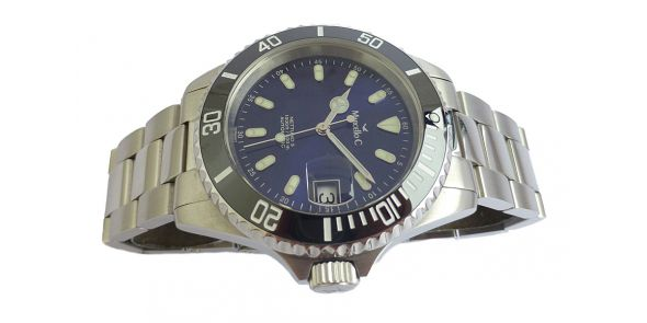 Marcello C Nettuno Divers Wristwatch Ceramic Bezel - NWW 1365