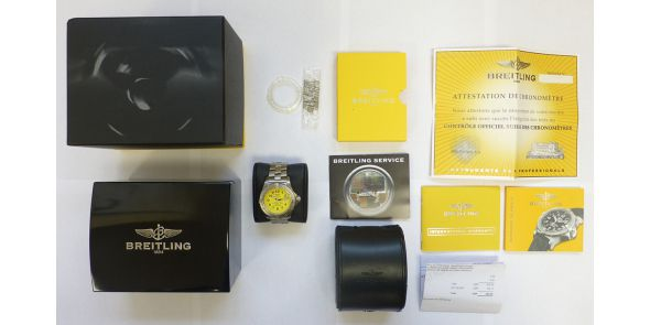 Breitling Sea Wolf 3000m Automatic Divers Watch Breitling Serviced - BRL 206
