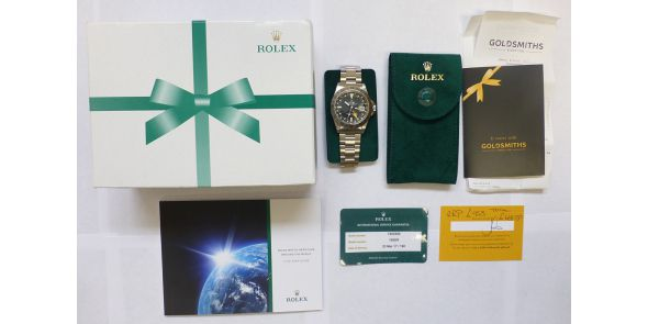 Rolex Explorer II - Orange Hand Rolex Serviced March 2017 - ROL 677