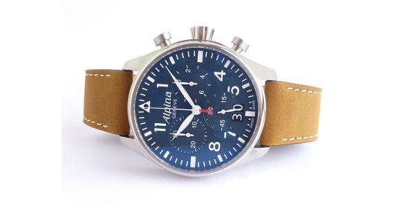 Alpina Startimer Pilot Big Date Chronograph - NWW 1406