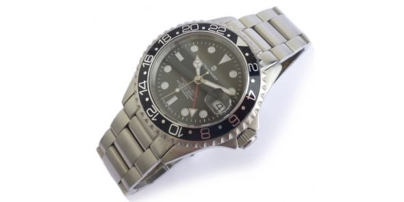 Steinhart GMT Ocean 1 Black - Automatic Diver - Pre Owned - NWW 1409