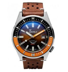 Squale Squale Squalematic 60 ATM Brown Dial Polished Finish SQL 22
