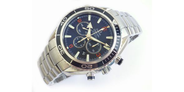 Omega Seamaster Planet Ocean Chronograph - Omega Serviced - OME 614
