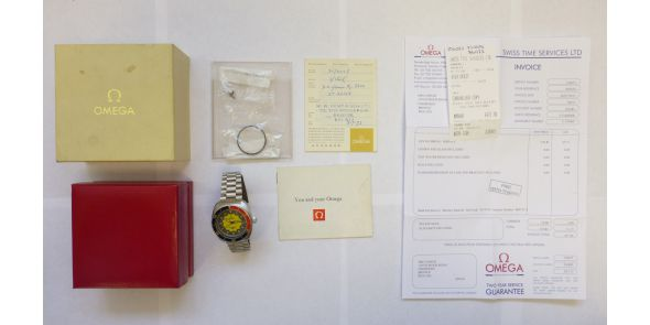 Omega Seamaster 200 Banana - Original Box Papers - Omega Serviced - OME 617
