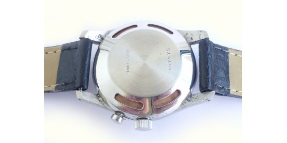 Vulcain Cricket Hand Wound Mechanical Wrist Alarm - NWW 1415