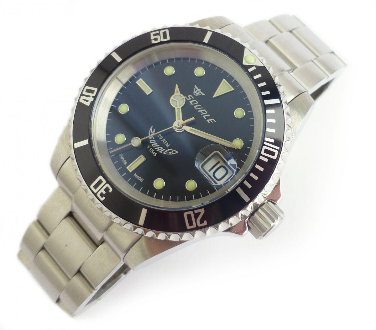 squale 20 atmos 1545 classic nww 1418 chronomaster uk