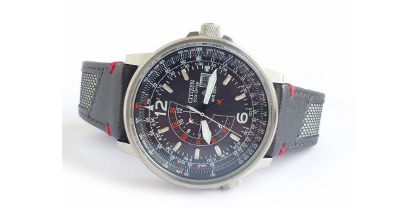 Citizen Nighthawk Eco Drive Pilot - NWW 1420
