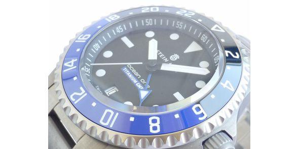 Ocean Titanium 500 GMT Premium - STH 37
