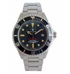 Steinhart Ocean One Vintage Red - New Black Dial 0657