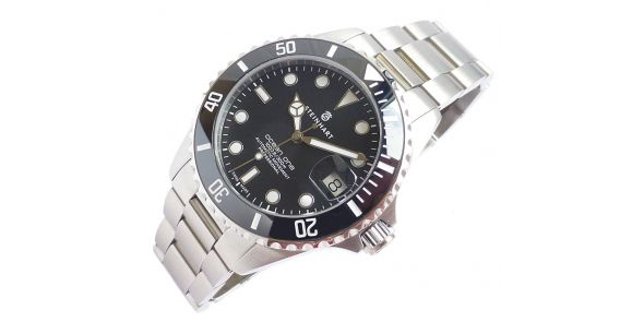 Steinhart Ocean One 39 Black Ceramic - Upgraded Engraved Bezel - 0981