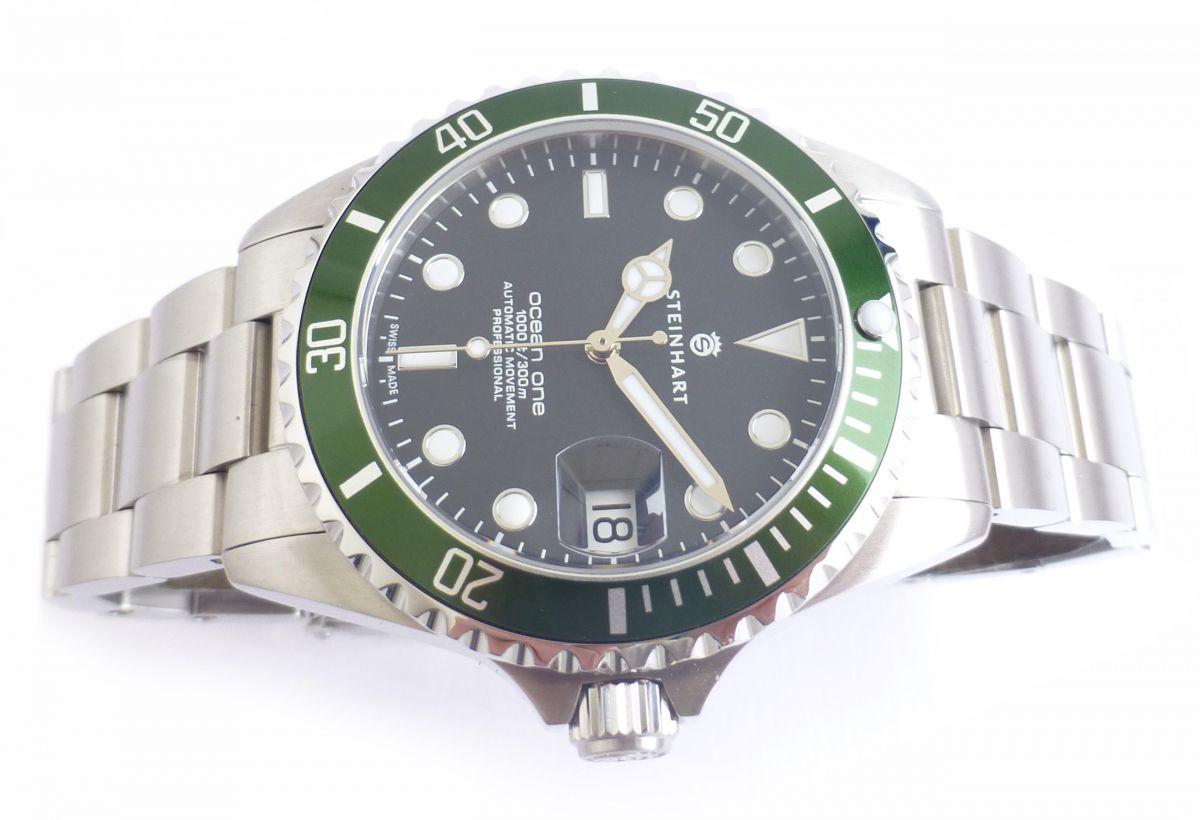 Steinhart Ocean One 39 Green 0725 Chronomaster Uk