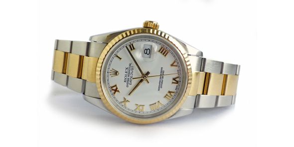 Rolex Oyster Perpetual Datejust - Steel and Gold - ROL 683