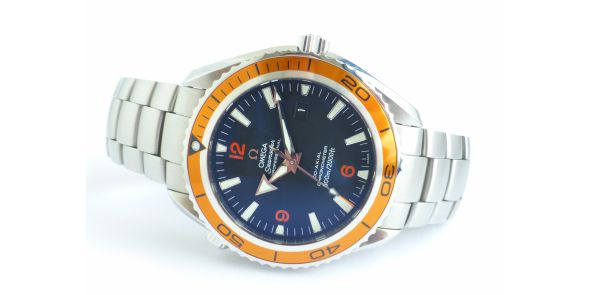 Omega Seamaster Planet Ocean Co-Axial Orange Bezel - OME 644
