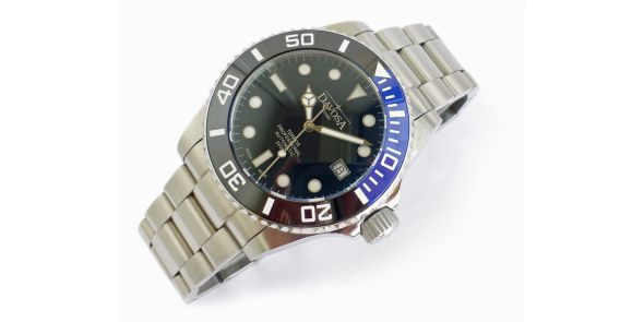 Davosa Ternos Professional Automatic Diver - Black/Blue - NWW 1425