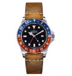Davosa Vintage Diver - Blue Red 162.500.95
