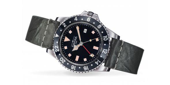 Davosa Vintage Diver - Black - 162.500.55