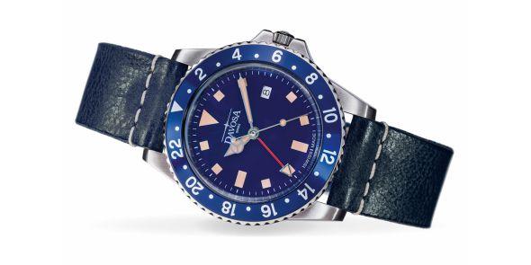 Davosa Vintage Diver - Blue - 162.500.45