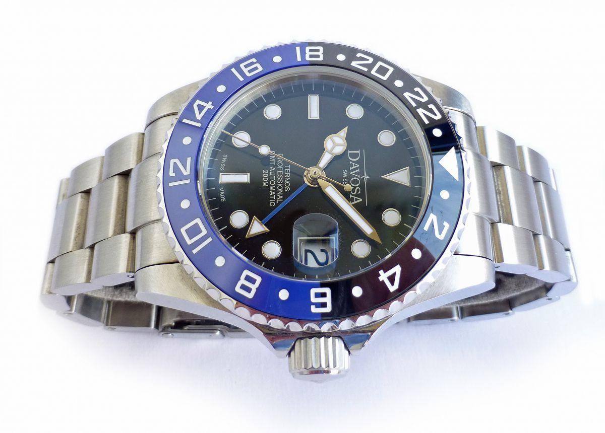 davosa gmt  Davosa Ternos Professional Dual Time NWW 1434 | Chronomaster UK