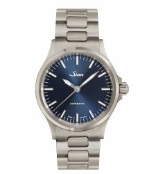Sinn 556 I Blue on Steel Bracelet SIN 235