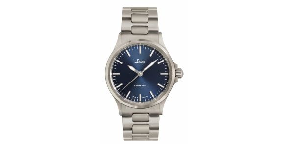 Sinn 556 I Blue on Steel Bracelet - SIN 235