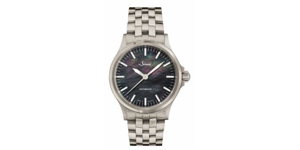 Sinn 556 I Mother of Pearl on Fine Link Steel Bracelet - SIN 237
