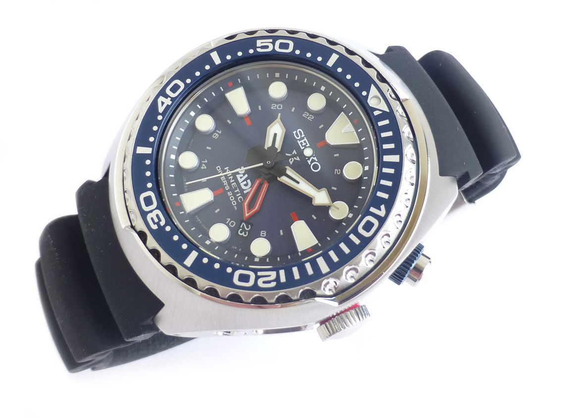Seiko Prospex Kinetic GMT Divers PADI Edition SUN065 NWW 1437 ... 1619b0948