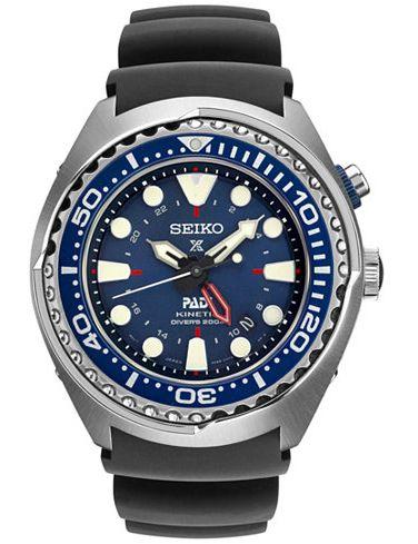 Seiko Prospex Kinetic Gmt Divers Padi Edition Sun065 Nww 1437