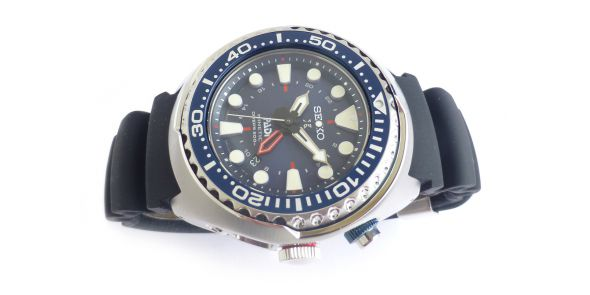 Seiko Prospex Kinetic GMT Divers PADI Edition SUN065 - NWW 1437