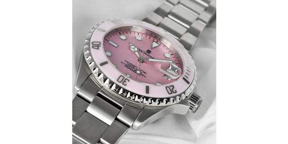 Steinhart Ocean One 39 Pink Mother of Pearl - 103-0723