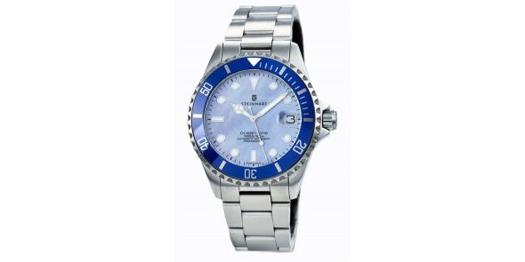 Steinhart Ocean One 39 Blue Mother of Pearl - 103-0724