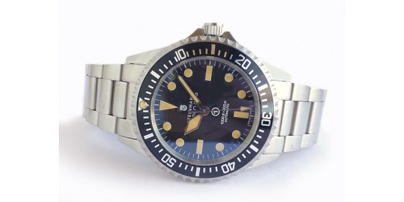 Steinhart Ocean Vintage Military - New Black Dial - 0658