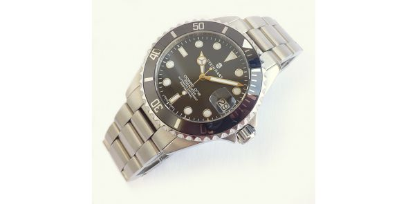 Steinhart Ocean One 39 - Black Ceramic - Pre Owned - NWW 1450