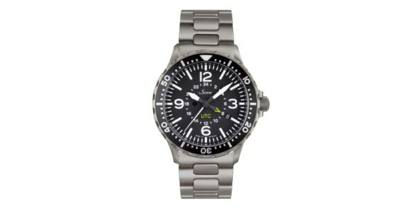 Sinn 857 UTC on Steel Bracelet - SIN 238