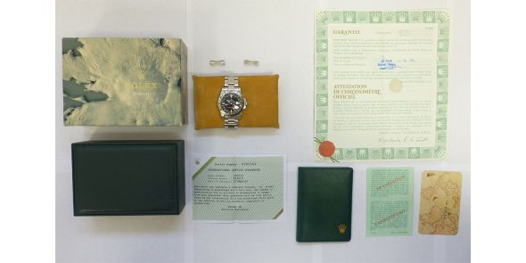 Rolex Explorer II Orange Hand - Box And Papers Rolex Serviced - ROL 687