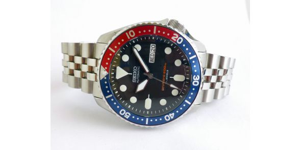 Seiko SKX 009 Japan Made - Modded - NWW 1458