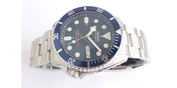 Seiko SKX 009 Japan Made - Snowflake Modded - NWW 1459