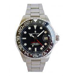 Steinhart GMT Ocean One 39 Black Ceramic - Upgraded Bezel 1016