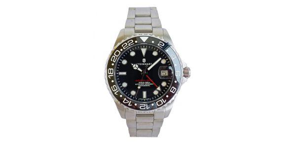 GMT Ocean One 39 Black Ceramic - Upgraded Bezel - 1016
