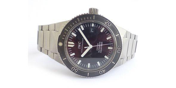 IWC GST Aquatimer 3536 in Titanium - IWC 195