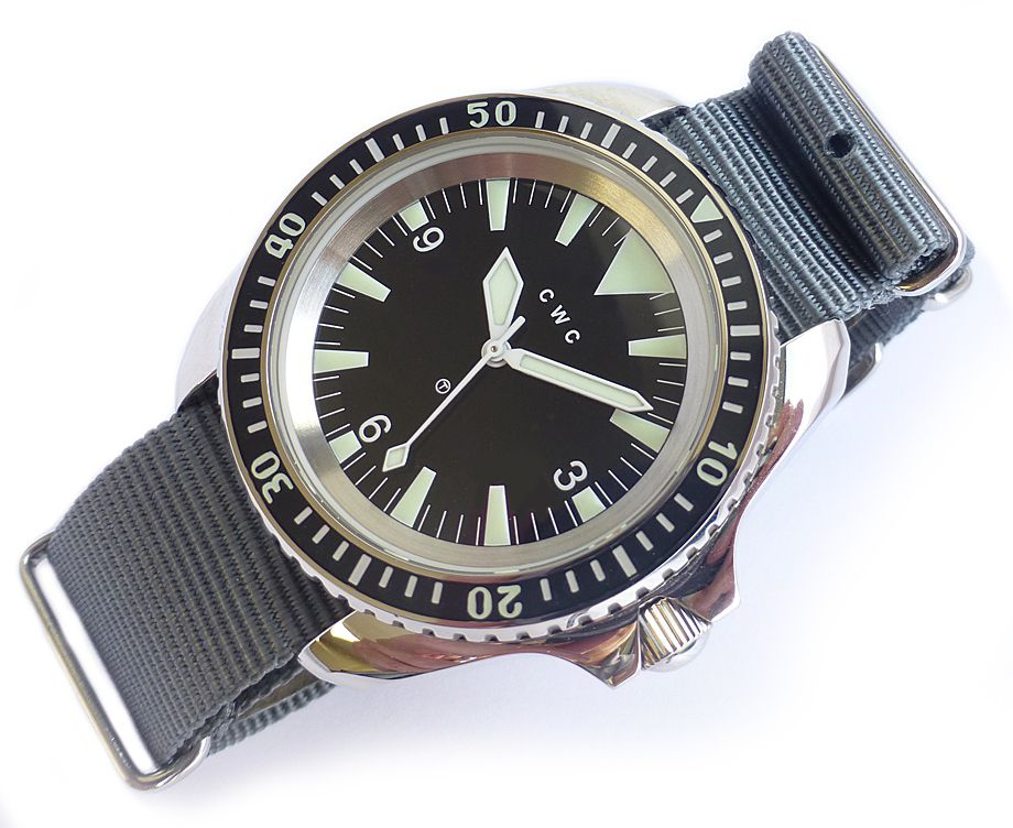 Cwc 1980 Royal Navy Divers Reissue Limited Edition Nww