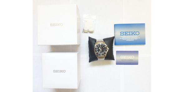 Seiko Kinetic Divers 200m Mens Watch SKA 371P1 - NWW 1489